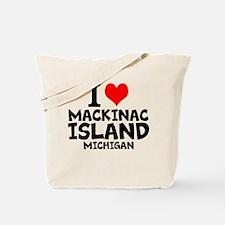 I Love Mackinac Island, Michigan Tote Bag