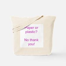 Paper Pink Tote Bag