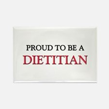 Proud to be a Dietitian Rectangle Magnet