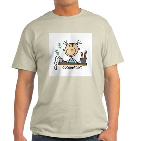 Professions Accountant Light T-Shirt