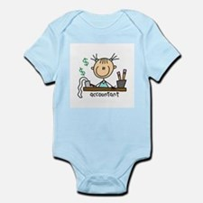 Professions Accountant Infant Bodysuit