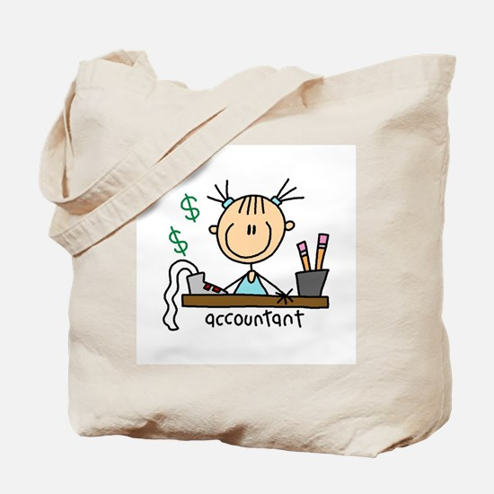 Professions Accountant Tote Bag