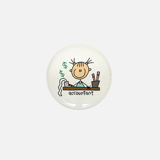 Professions Accountant Mini Button