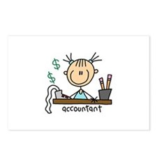 Professions Accountant Postcards (Package of 8)