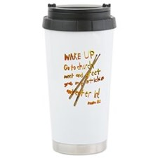 Wake Up Travel Mug