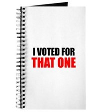 THAT ONE BARACK OBAMA I VOTED FOR THAT ONE BUMPER