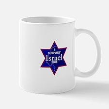 I Support ISRAEL 2008 Small Mugs