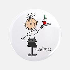 """Waitress 3.5"""" Button"""