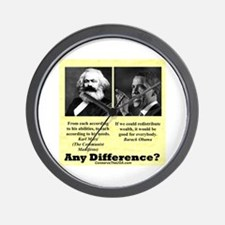 """Any Difference?"" Wall Clock"