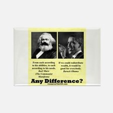 """""""Any Difference?"""" Rectangle Magnet"""