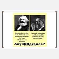 """""""Any Difference?"""" Banner"""