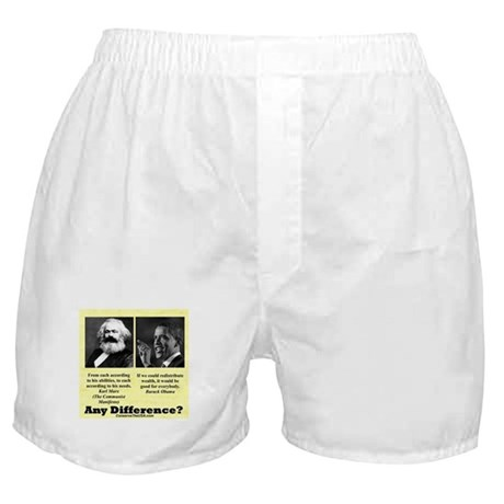 """Any Difference?"" Boxer Shorts"