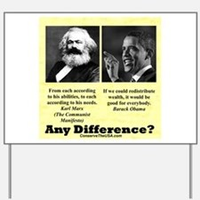 """""""Any Difference?"""" Yard Sign"""