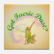 Got Fairy Dust? Tile Coaster
