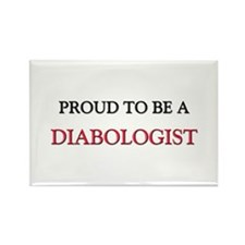 Proud to be a Diabologist Rectangle Magnet (10 pac