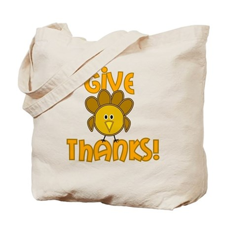 Give Thanks! Tote Bag