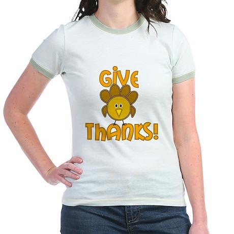 Give Thanks! Jr. Ringer T-Shirt