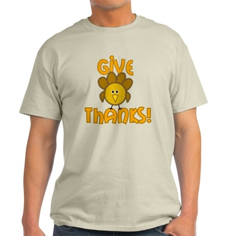 Give Thanks! Light T-Shirt