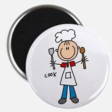 """Professions Cook 2.25"""" Magnet (100 pack)"""