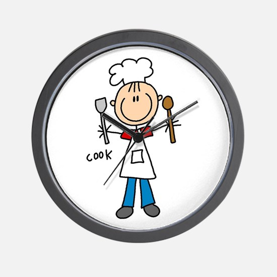 Professions Cook Wall Clock