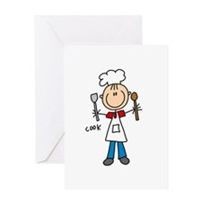 Professions Cook Greeting Card