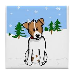 JR Winter - Tile Coaster