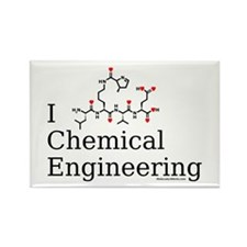 I love Chemical Engineering Rectangle Magnet