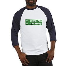 Cranford Shore NJ T-shirts Baseball Jersey