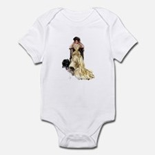 YELLOW SATIN Infant Bodysuit