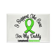 Lymphoma Cure (Daddy) Rectangle Magnet (10 pack)