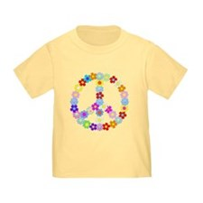 Flower Child Peace Toddler Tee
