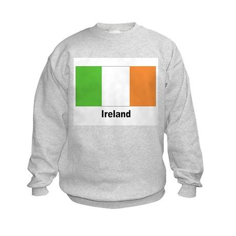 Ireland Irish Flag Kids Sweatshirt