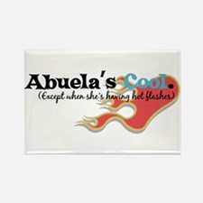 Abuela's Hot Flashes Rectangle Magnet