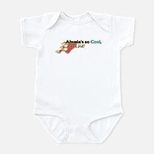 Abuela- So Cool She's Hot Infant Bodysuit