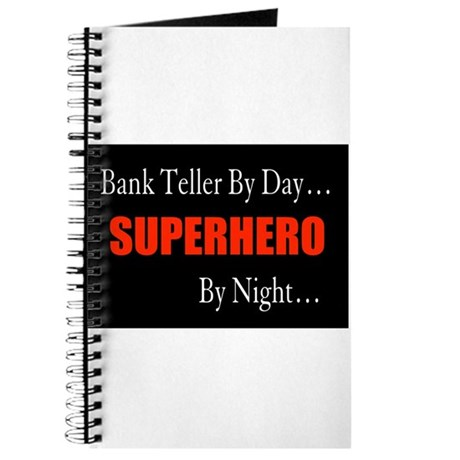 Bank Teller Gift Journal
