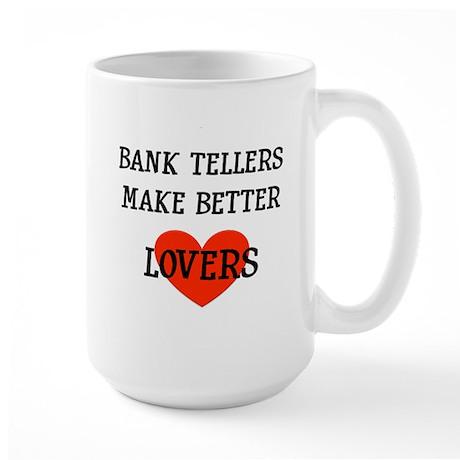 Bank Teller Gift Large Mug
