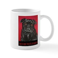 Funny Black pug Mug