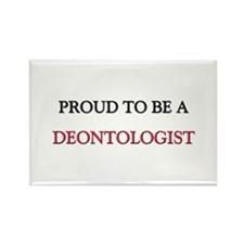 Proud to be a Deontologist Rectangle Magnet