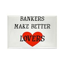 Banker Gift Rectangle Magnet
