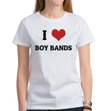 I Love Boy Bands Tee