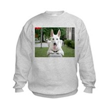 White German Shepard Sweatshirt