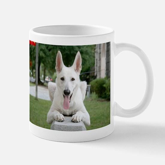 White German Shepard Mug