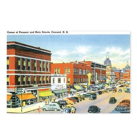 Concord New Hampshire Postcards (Package of 8)