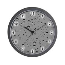 Water Droplet Wall Clock
