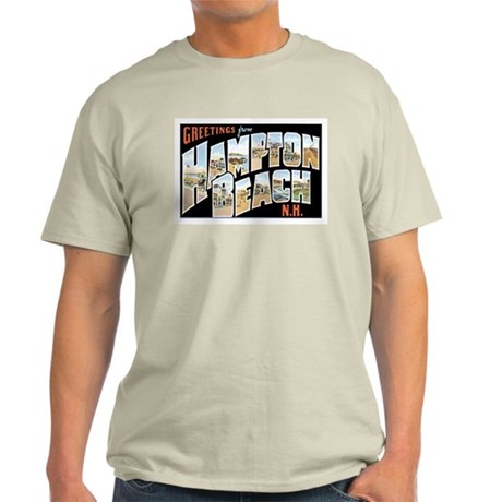 Hampton Beach New Hampshire NH Light T-Shirt