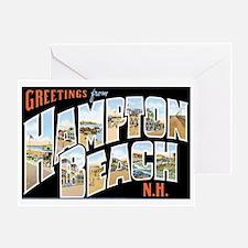Hampton Beach New Hampshire NH Greeting Card