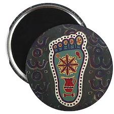 Buddha's Footprint Magnet
