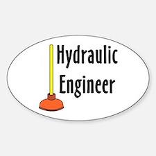 Hydraulic Engineer Plunger Decal