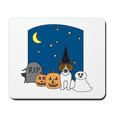 Beagle Halloween Mousepad