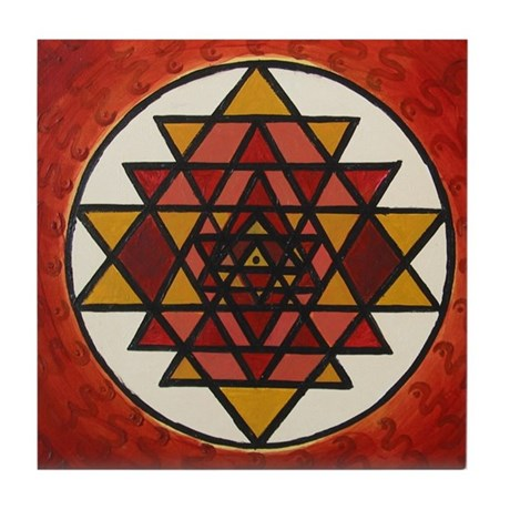 Triangles Tile Coaster